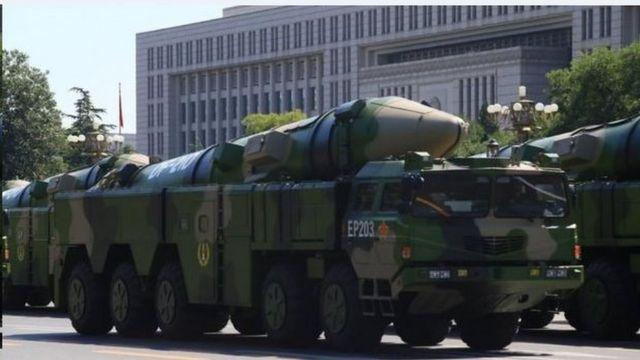 東風21D彈道導彈