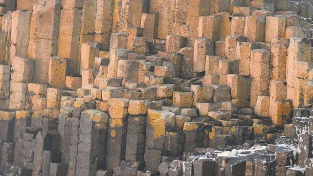 Calçada dos Gigantes, na Irlanda do Norte