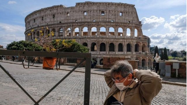 Coronavirus: el gobierno de Italia
