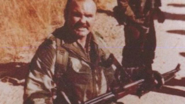 Peter in the Rhodesian SAS