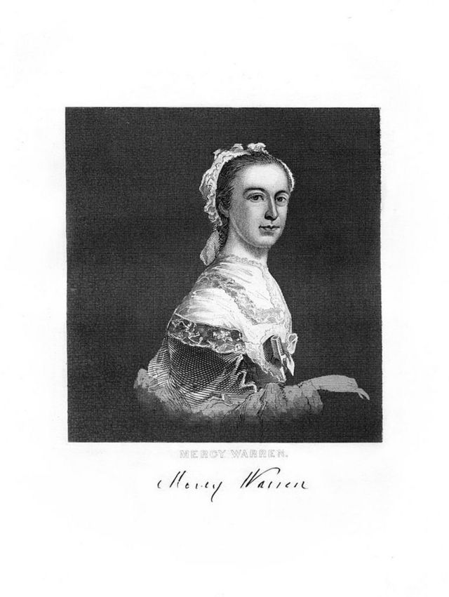 Retrato de Mercy Otis Warren