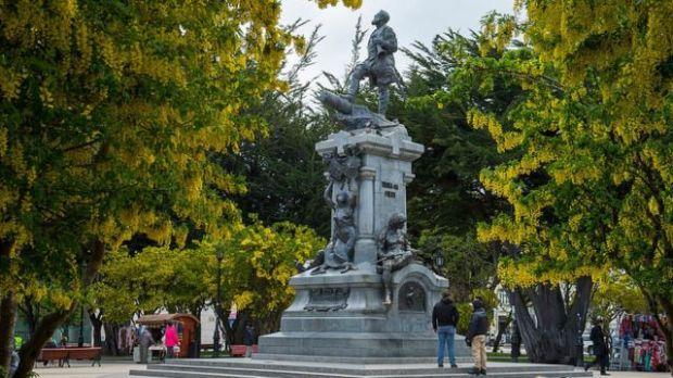 Estatua de Magallanes en Punta Arenas