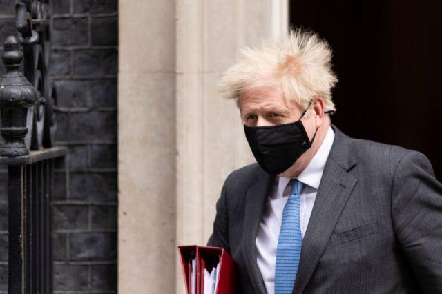 Boris Jones, British Prime Minister