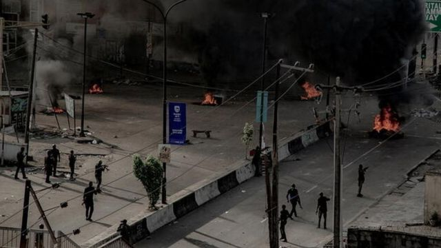 EndSARS Protests Lekki toll gate shooting and property wey Lagos violence destroy