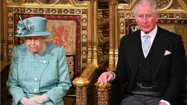 女王和查尔斯王子