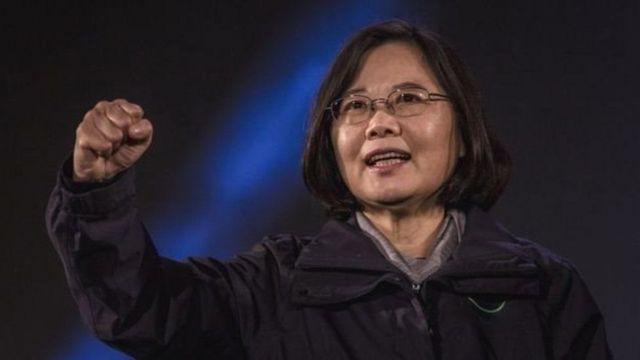 Madaxweynaha hadda ee Taiwan, Tsai Ing-wen