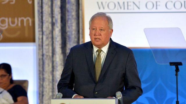 Tom Shannon, em foto de 2017, como subsecretário de Estado dos EUA