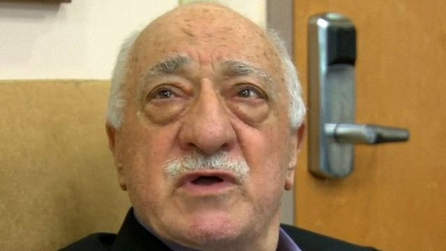 Fethullah Gülen lives in self-imposed exile in the United States.