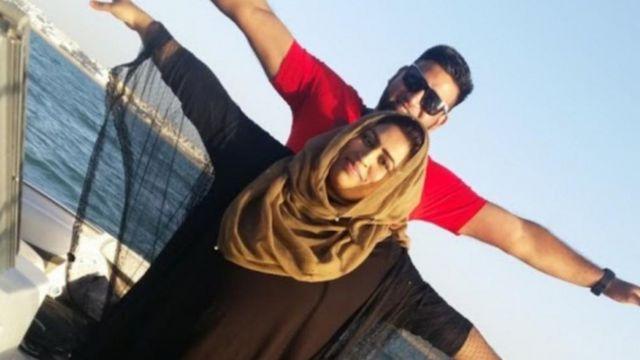 Arima and her husband Fadel Tahsin