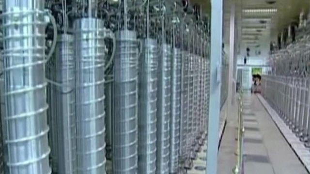 مخازن أجهزة الطرد المركزي في محطة نطنز النووية