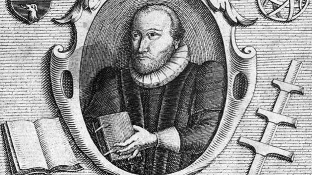 Gravura de C. Le Blon do estudioso inglês Robert Burton (1577 - 1640)