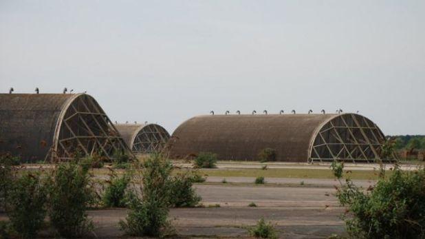 قاعدة وودبريدج للقوات الجوية الملكية أُغلقت عام 1993