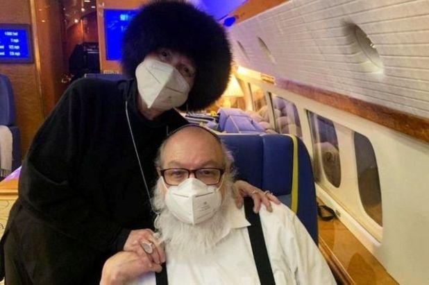 بولارد على متن الطائرة التي نقلته لتل أبيب