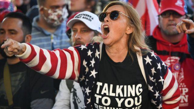 Seguidora de Trump