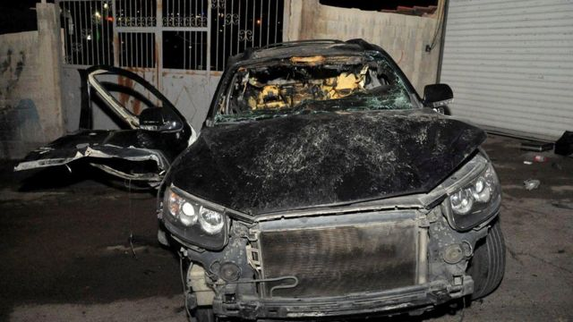 The opium was killed by detonating an explosive device planted in his car