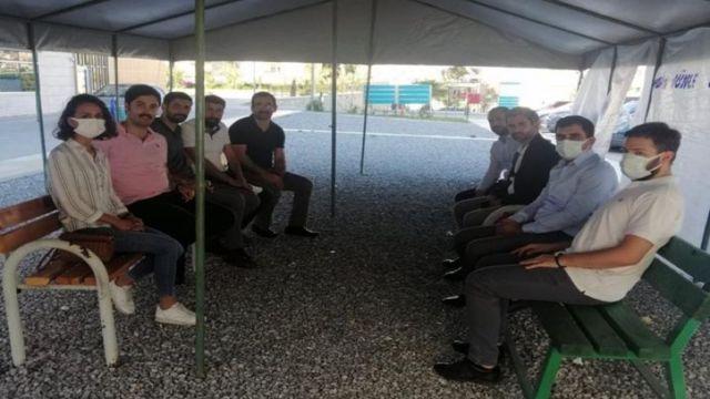 Diyarbakır Barosu avukatları abisinin başvurusu üzerine Anamur'a giderek Kareem ve ailesiyle görüştü