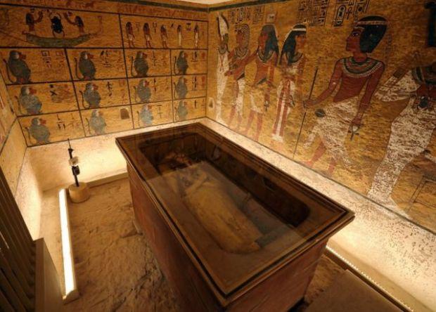 Tumba de Tutankamón.