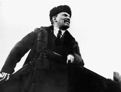 Lenin. Líder del sector bolchevique del Partido Obrero Socialdemócrata de Rusia, se convirtió en el principal dirigente de la Revolución de Octubre de 1917.