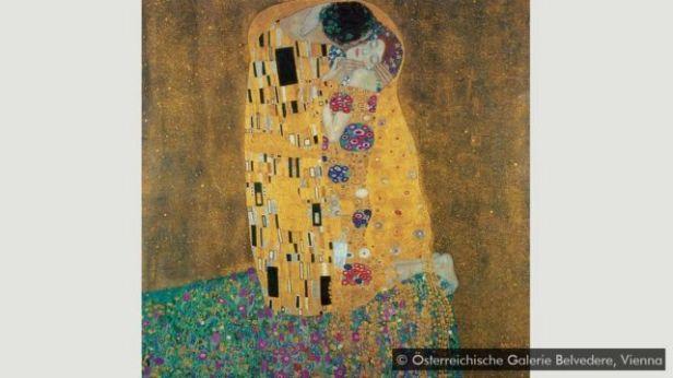 'O beijo', de Klimt