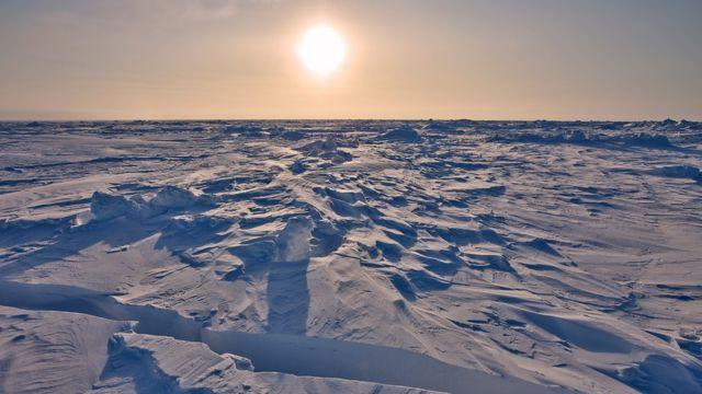 Gelo marinho no Ártico