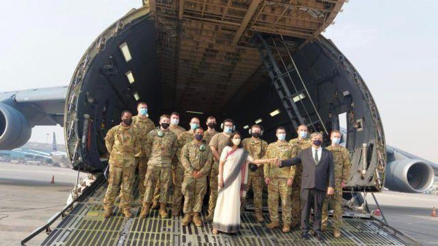 US aid in India