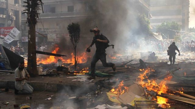 Rabaa sit-in dispersal