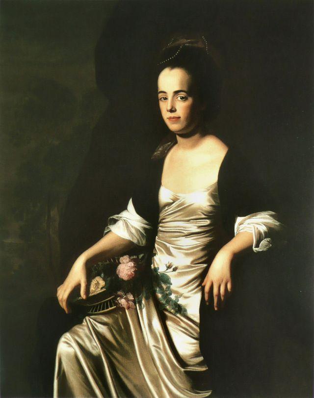 Retrato de Judith Sargent Murray del artista John Singleton Copley