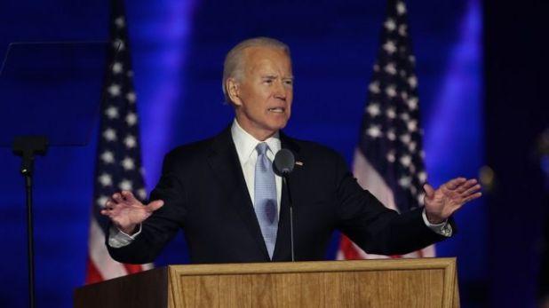 خطاب الفوز لبايدن ركز على ضرورة تصالح الأمريكيين فيما بينهم