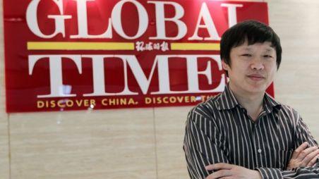 Hu Xijin, editor do jornal Global Times na China