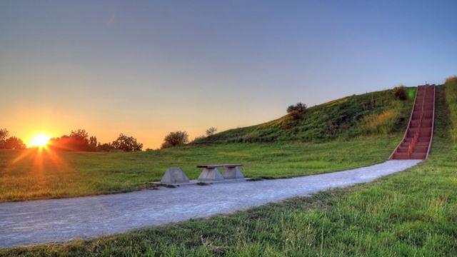 Sitio arqueológico de Cahokia.