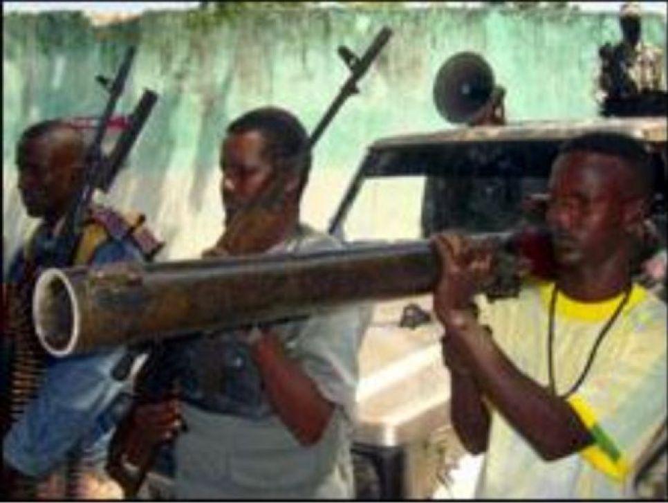 مسلحون من حركة الشباب الصومالية