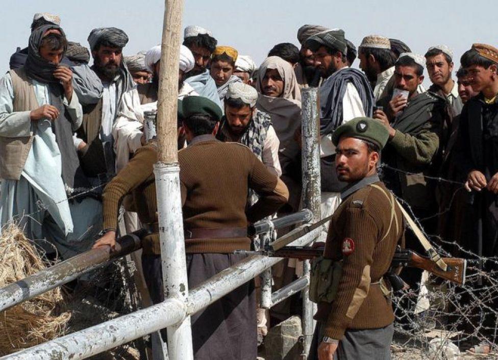الحدود الأفغانية الباكستانية