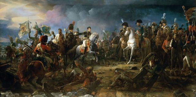 """Картина """"Битва під Аустерліцем 2 грудня 1805 року. Франсуа Жерар"""
