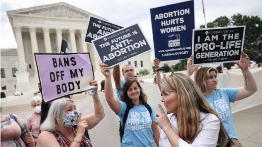 Protests against abortion