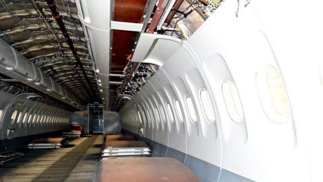 طیارے کا اندرونی حصہ
