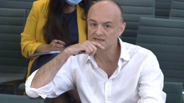 Dominic Cummings geçen hafta Avam Kamarası'nda bir komiteye elindeki kanıtları sunmuştu