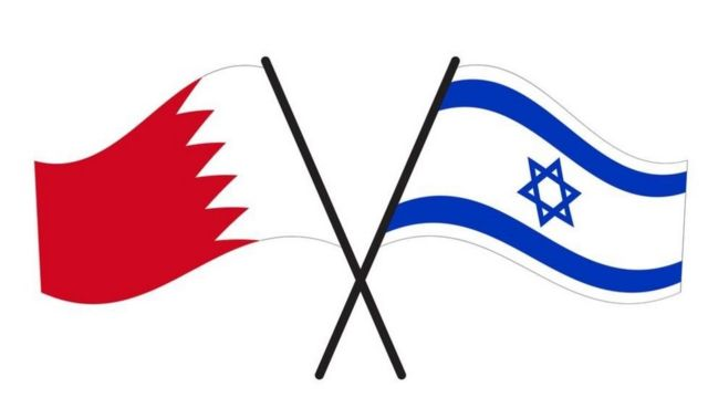 Note Bahrain and Israel