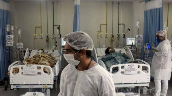 Pacientes de UTI no Rio de Janeiro