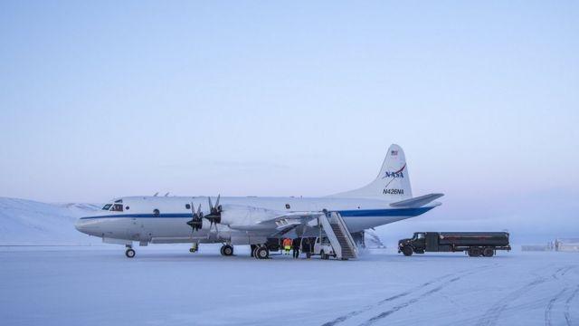 Avión IceBridge