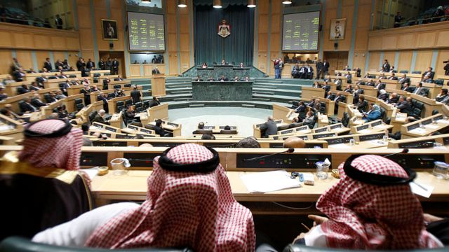General picture of the Jordanian parliament