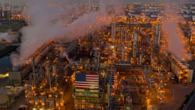 The Los Angeles Refinery is the largest producer of auto fuel in California, USA