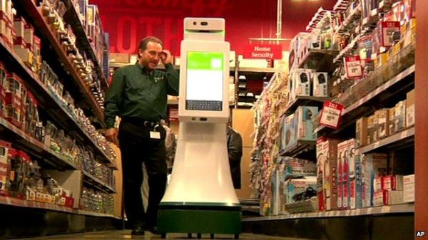 Are robots set to take over from retail staff? - BBC News