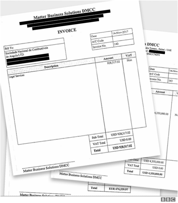 Matter Business Solutions invoice