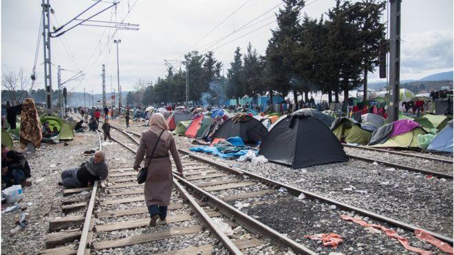 refugiados, crise
