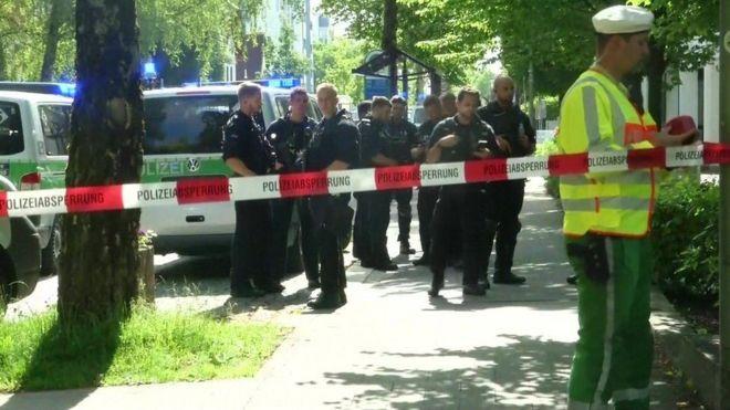 المنطقة شهدت عملية كبيرة للشرطة قرب محطة القطارات