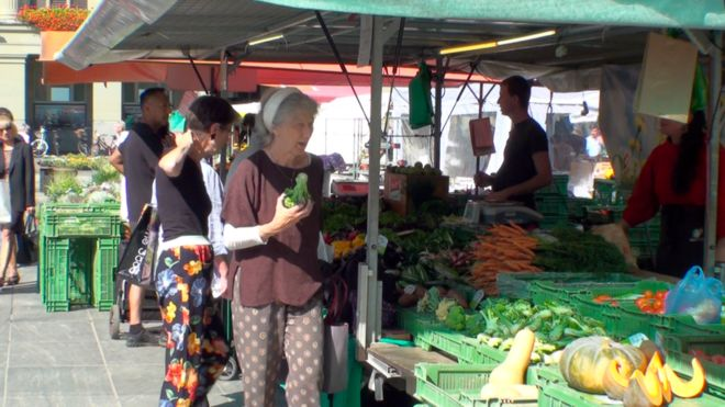 Image result for Swiss voters reject 'fair food' plans