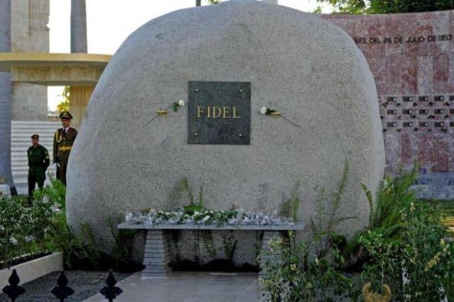 Tumba de Fidel