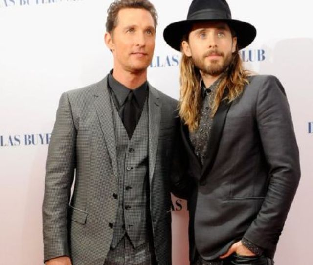 Matthew Mcconaughey And Jared Let