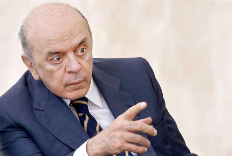 José Serra, el ministro de Relaciones de Exteriores de Brasil.