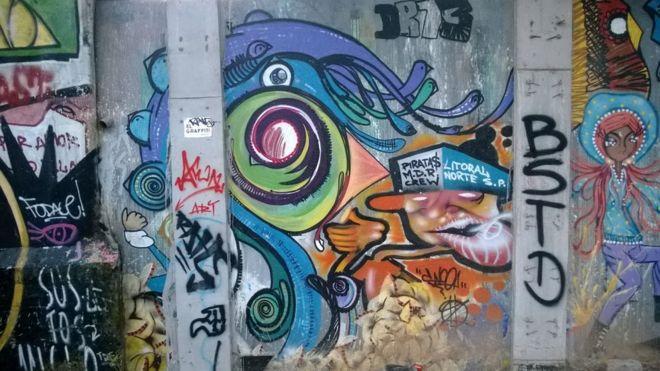 Grafite em São Paulo